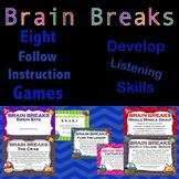 Brain Breaks: Kinesthetics Learning - Following Instructions
