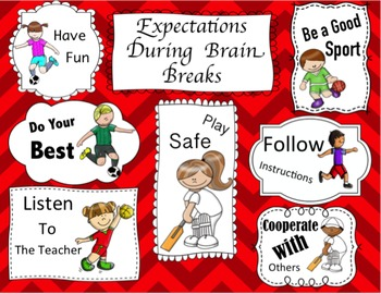 Brain Breaks: Daily Physical Activity - Games About The Arts