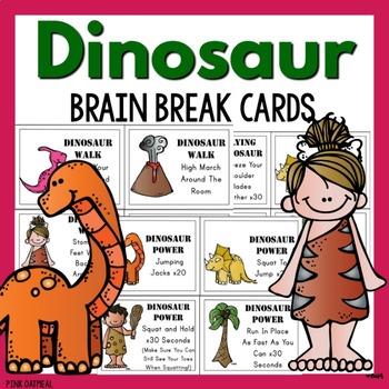Brain Breaks - Dinosaur Themed