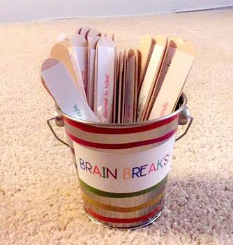 Brain Breaks [EDITABLE]