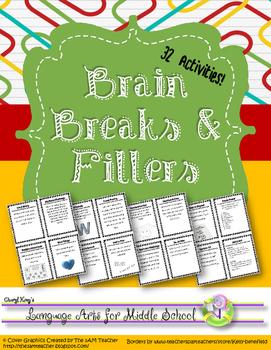 Brain Breaks & Fillers