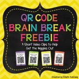Brain Breaks Freebie {With QR Codes}