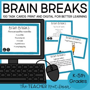 Brain Breaks for 1st - 5th Grade