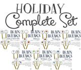 Brain Breaks {Holiday Bundle}