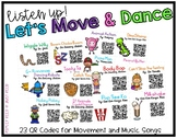 Brain Breaks: Let's Move and Dance QR Codes