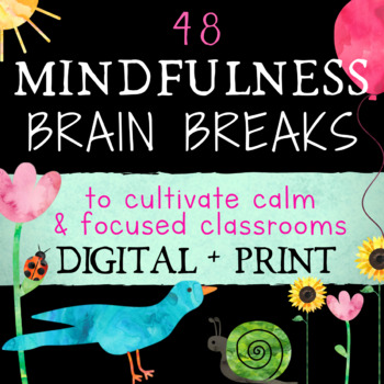 Mindfulness Brain Breaks: Easy Mindful Activity for Calm F