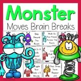 Brain Breaks - Monster Moves