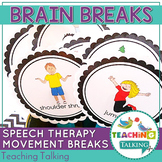 Articulation Rewards ~ Brain Breaks for Speech and Language Therapy