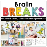 Brain Breaks | Movement Cards | Classroom Management Tool