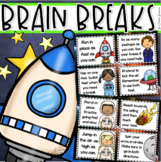 Brain Breaks Movement Cards Outer Space Theme