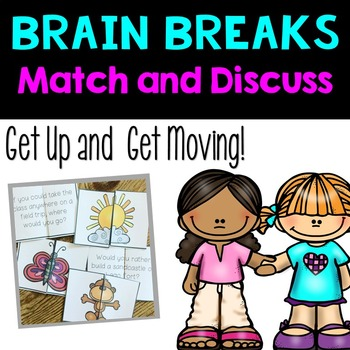 Brain Breaks- Partner Match and Discuss