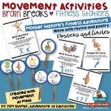 Brain Breaks | Physical Education and Movement Activities | Posters