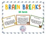 Brain Breaks Printable Cards