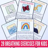 Brain Breaks Printable Cards - Breathing Exercises for Kids