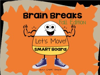Brain Breaks SMART Board: Let's Move-Fall Edition