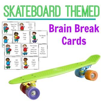 Brain Breaks - Skateboard