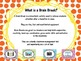 Brain Break Song and Dance Cards with QR codes {Freebie}
