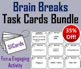 Brain Breaks Task Cards Bundle: Logic Puzzles, Riddles, Word Puzzles
