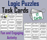 Brain Breaks Task Cards/ Logic Puzzles Task Cards