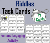 Break Breaks: Riddles Task Cards