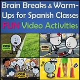 Fun Spanish Brain Breaks & Warm-Up Video Activities - Pasatiempos y Estereotipos
