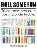 Brain Breaks and Indoor Recess Ideas