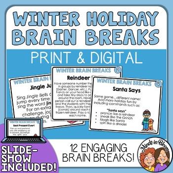 Christmas Brain Breaks