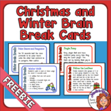 Christmas and Winter Brain Breaks