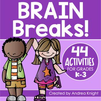 Brain Breaks for Multiple Intelligences:  44 Fun Activities for Primary Children