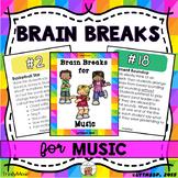 Brain Breaks for Music Class (Music Standard Related)