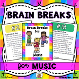 Brain Breaks for Music Class (Music Standard Related)