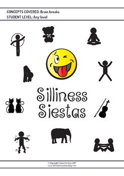 Brain Breaks for Preschool Piano Students – Silliness Siestas
