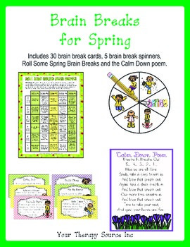 Brain Breaks for Spring - Movement Breaks for the Classroom
