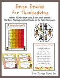 Brain Breaks for Thanksgiving