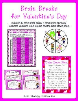 Brain Breaks for Valentine's Day - Movement Breaks