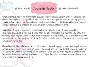 Brain Breaks- for all learners