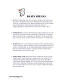 Brain Breaks for learning fun