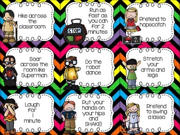 Brain Breaks for the Busy Classroom