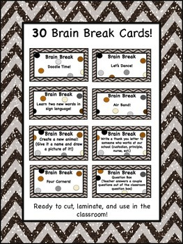 Brain Breaks for the Classroom!
