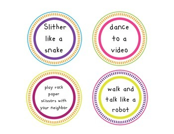 Brain Breaks in the Classroom: Let's Get Moving!