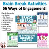 Brain Breaks Cards | Brain Break Activity
