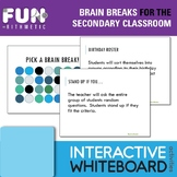 Brain Breaks for the Secondary Classroom