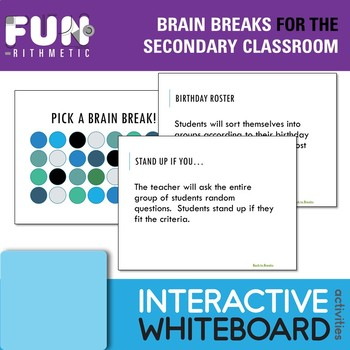 We're featuring terrific resources such as Brain Breaks, Pre-Assessment Task Cards, Zen Math, Poetry Close Reads, and One Step Inequality Puzzles.