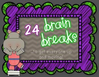 Brain Breaks {...to get everyone moving!}