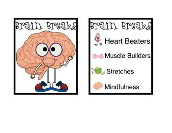 Brain Breaks with Math Dice
