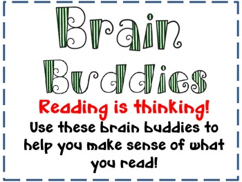 Brain Buddies Poster Set: Strategies for Reading and Decoding
