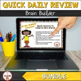 Bell Ringer Daily Warm Ups and Test Prep BUNDLE