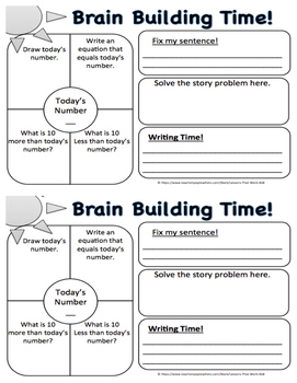 Brain Builder Log Book - Pack 2