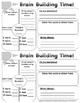 Brain Builder Log Book - Pack 3
