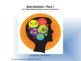 Brain Builder Morning Work Pack 1